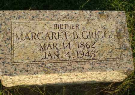 GRIGGS, MARGARET B - Greene County, Arkansas | MARGARET B GRIGGS - Arkansas Gravestone Photos