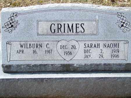 GRIMES, WILBURN C. - Greene County, Arkansas | WILBURN C. GRIMES - Arkansas Gravestone Photos