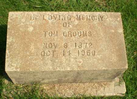 GROOMS, TOM - Greene County, Arkansas | TOM GROOMS - Arkansas Gravestone Photos