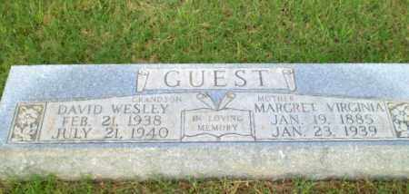 GUEST, MARGRET VIRGINIA - Greene County, Arkansas | MARGRET VIRGINIA GUEST - Arkansas Gravestone Photos