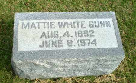 GUNN, MATTIE - Greene County, Arkansas | MATTIE GUNN - Arkansas Gravestone Photos