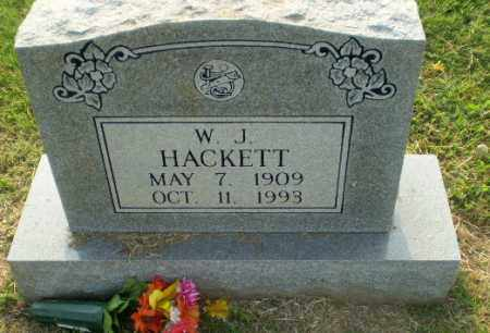 HACKETT, W.J. - Greene County, Arkansas | W.J. HACKETT - Arkansas Gravestone Photos