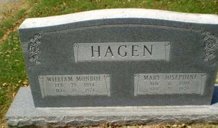 HAGEN, MARY JOSEPHINE - Greene County, Arkansas | MARY JOSEPHINE HAGEN - Arkansas Gravestone Photos