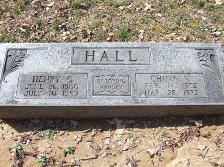 HALL, CHINA V. - Greene County, Arkansas | CHINA V. HALL - Arkansas Gravestone Photos