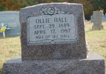 HALL, OLLIE - Greene County, Arkansas | OLLIE HALL - Arkansas Gravestone Photos