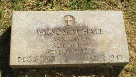 HALL (VETERAN WWII, POW), WILSON M - Greene County, Arkansas | WILSON M HALL (VETERAN WWII, POW) - Arkansas Gravestone Photos