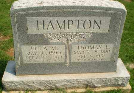 HAMPTON, LULA M - Greene County, Arkansas | LULA M HAMPTON - Arkansas Gravestone Photos