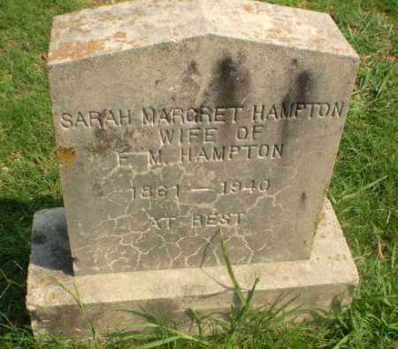 HAMPTON, SARAH MARGRET - Greene County, Arkansas | SARAH MARGRET HAMPTON - Arkansas Gravestone Photos