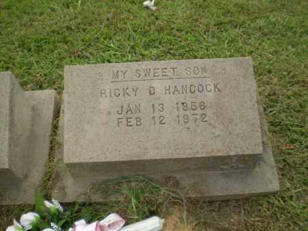HANCOCK, RICKY D - Greene County, Arkansas | RICKY D HANCOCK - Arkansas Gravestone Photos