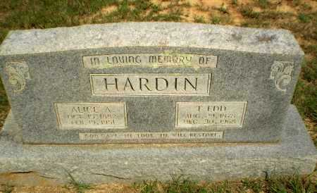 HARDIN, ALICE A - Greene County, Arkansas | ALICE A HARDIN - Arkansas Gravestone Photos