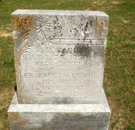 HARDIN, W.Z. - Greene County, Arkansas | W.Z. HARDIN - Arkansas Gravestone Photos