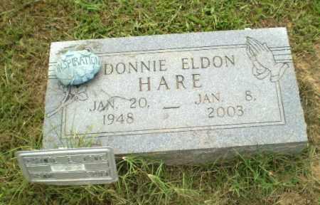 HARE, DONNIE ELDON - Greene County, Arkansas | DONNIE ELDON HARE - Arkansas Gravestone Photos