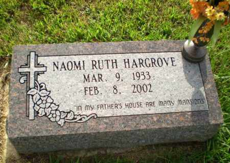 HARGROVE, NAOMI RUTH - Greene County, Arkansas | NAOMI RUTH HARGROVE - Arkansas Gravestone Photos