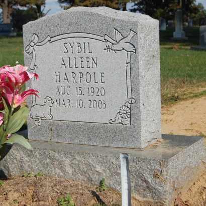 MARTIN HARPOLE, SYBIL ALLEEN - Greene County, Arkansas | SYBIL ALLEEN MARTIN HARPOLE - Arkansas Gravestone Photos