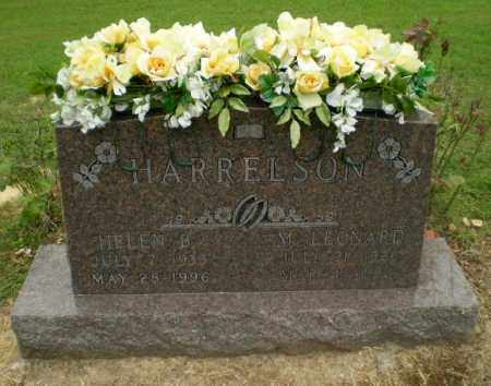 HARRELSON, M.LEONARD - Greene County, Arkansas | M.LEONARD HARRELSON - Arkansas Gravestone Photos