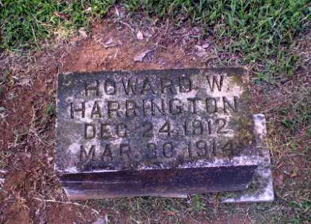 HARRINGTON, HOWARD W - Greene County, Arkansas | HOWARD W HARRINGTON - Arkansas Gravestone Photos