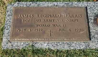 HARRIS (VETERAN WWII), JAMES REGINALD - Greene County, Arkansas | JAMES REGINALD HARRIS (VETERAN WWII) - Arkansas Gravestone Photos