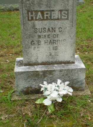 HARRIS, SUSAN C. - Greene County, Arkansas | SUSAN C. HARRIS - Arkansas Gravestone Photos