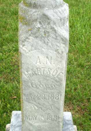 HARTSOE, A.N - Greene County, Arkansas | A.N HARTSOE - Arkansas Gravestone Photos
