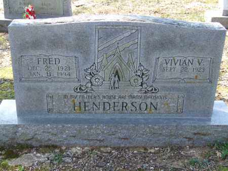 HENDERSON, FRED - Greene County, Arkansas | FRED HENDERSON - Arkansas Gravestone Photos