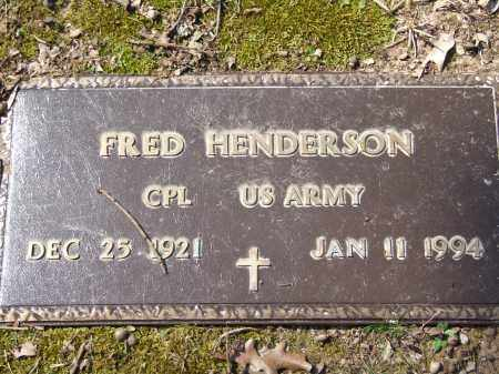 HENDERSON (VETERAN), FRED - Greene County, Arkansas | FRED HENDERSON (VETERAN) - Arkansas Gravestone Photos