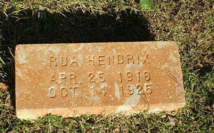 HENDRIX, RUA - Greene County, Arkansas | RUA HENDRIX - Arkansas Gravestone Photos