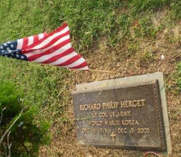 HERGET  (VETERAN 2 WARS), RICHARD PHILIP - Greene County, Arkansas | RICHARD PHILIP HERGET  (VETERAN 2 WARS) - Arkansas Gravestone Photos