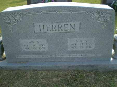 HERREN, VIOLA - Greene County, Arkansas | VIOLA HERREN - Arkansas Gravestone Photos