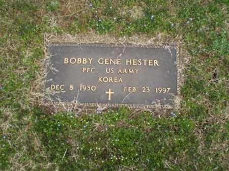 HESTER  (VETERAN KOR), BOBBY GENE - Greene County, Arkansas | BOBBY GENE HESTER  (VETERAN KOR) - Arkansas Gravestone Photos
