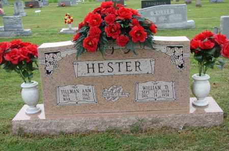 HESTER, TILLMAN ANN - Greene County, Arkansas | TILLMAN ANN HESTER - Arkansas Gravestone Photos