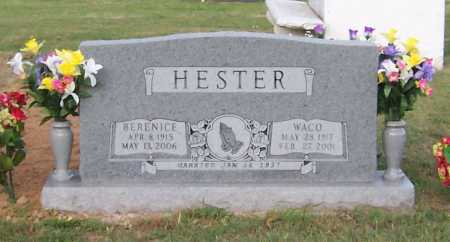 HESTER, WACO - Greene County, Arkansas | WACO HESTER - Arkansas Gravestone Photos