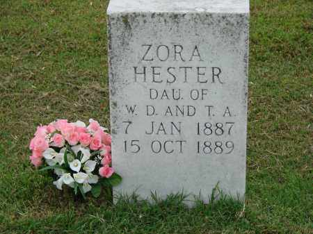 HESTER, ZORA - Greene County, Arkansas | ZORA HESTER - Arkansas Gravestone Photos