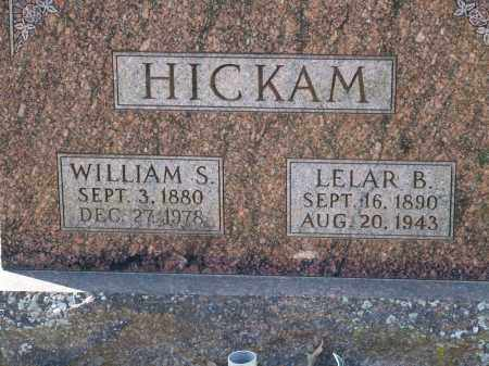 HICKAM, LELAR B. - Greene County, Arkansas | LELAR B. HICKAM - Arkansas Gravestone Photos