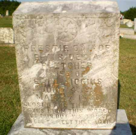 HIGGINS, PRESTIE - Greene County, Arkansas | PRESTIE HIGGINS - Arkansas Gravestone Photos