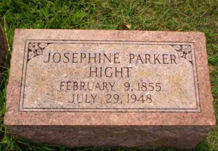 PARKER HIGHT, JOSEPHINE - Greene County, Arkansas | JOSEPHINE PARKER HIGHT - Arkansas Gravestone Photos