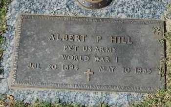 HILL (VETERAN WWI), ALBERT P. - Greene County, Arkansas | ALBERT P. HILL (VETERAN WWI) - Arkansas Gravestone Photos