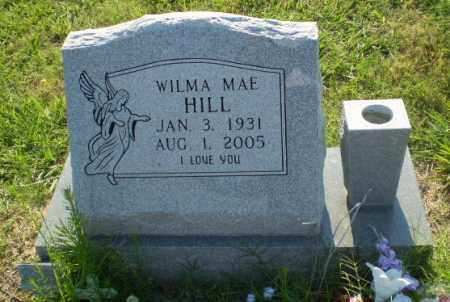 HILL, WILMA MAE - Greene County, Arkansas | WILMA MAE HILL - Arkansas Gravestone Photos