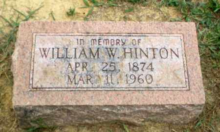 HINTON, WILLIAM W - Greene County, Arkansas | WILLIAM W HINTON - Arkansas Gravestone Photos