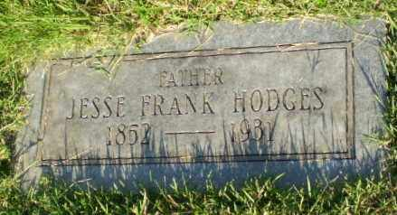 HODGES, JESSE FRANK - Greene County, Arkansas | JESSE FRANK HODGES - Arkansas Gravestone Photos