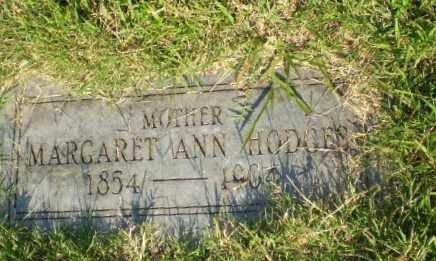HODGES, MARGARET ANN - Greene County, Arkansas | MARGARET ANN HODGES - Arkansas Gravestone Photos