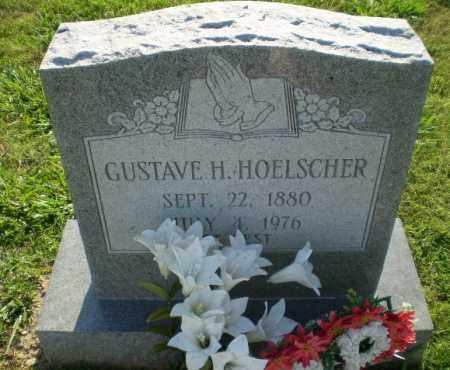 HOELSCHER, GUSTAVE H - Greene County, Arkansas | GUSTAVE H HOELSCHER - Arkansas Gravestone Photos