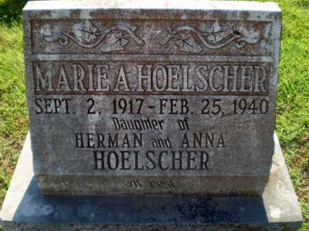 HOELSCHER, MARIE A - Greene County, Arkansas | MARIE A HOELSCHER - Arkansas Gravestone Photos