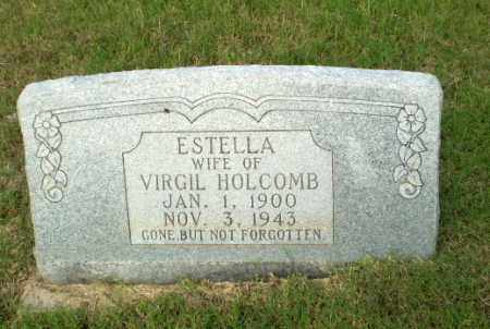 HOLCOMB, ESTELLA - Greene County, Arkansas | ESTELLA HOLCOMB - Arkansas Gravestone Photos