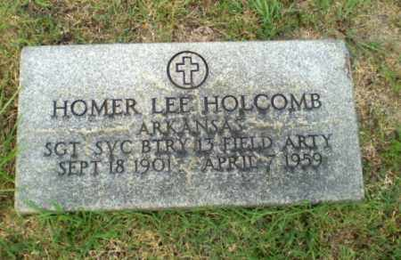 HOLCOMB (VETERAN), HOMER LEE - Greene County, Arkansas | HOMER LEE HOLCOMB (VETERAN) - Arkansas Gravestone Photos