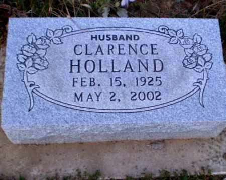 HOLLAND, CLARENCE - Greene County, Arkansas | CLARENCE HOLLAND - Arkansas Gravestone Photos