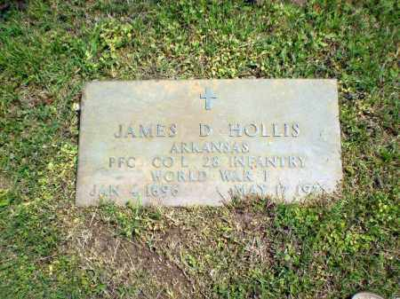 HOLLIS  (VETERAN WWI), JAMES D - Greene County, Arkansas | JAMES D HOLLIS  (VETERAN WWI) - Arkansas Gravestone Photos