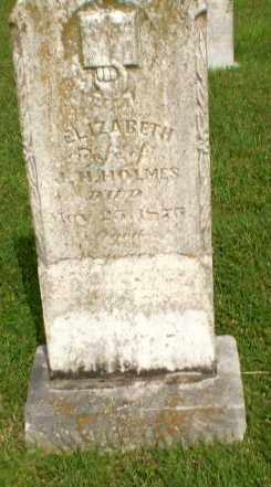 HOLMES, ELIZABETH - Greene County, Arkansas | ELIZABETH HOLMES - Arkansas Gravestone Photos