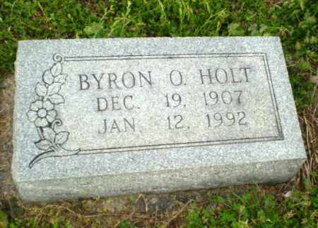 HOLT, BYRON O. - Greene County, Arkansas | BYRON O. HOLT - Arkansas Gravestone Photos