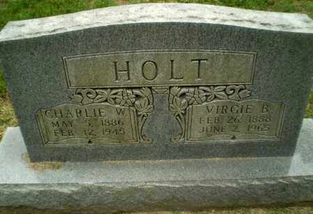 HOLT, VIRGIE B - Greene County, Arkansas | VIRGIE B HOLT - Arkansas Gravestone Photos