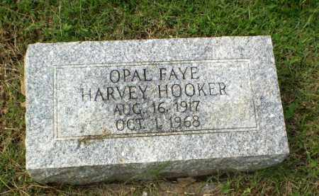 HARVEY HOOKER, OPAL FAYE - Greene County, Arkansas | OPAL FAYE HARVEY HOOKER - Arkansas Gravestone Photos